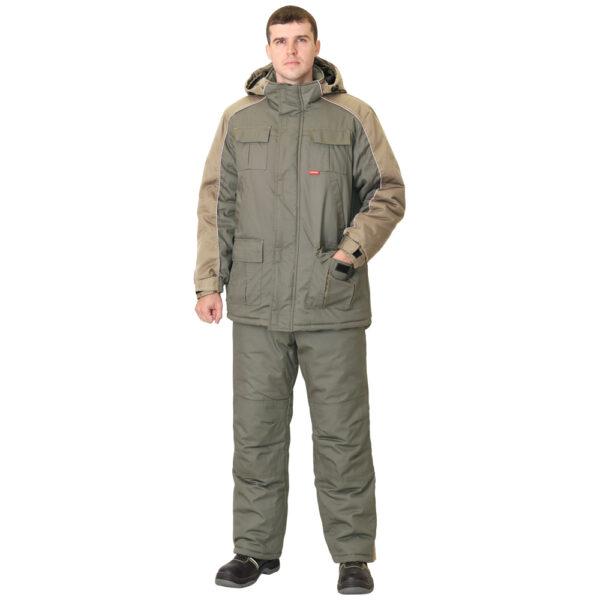 Костюм рабочий зимний Висмут куртка и брюки